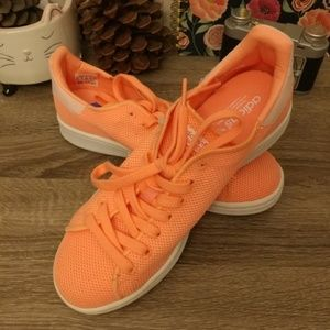 adidas Shoes - Adidas Stan Smith tangerine sneakers 6.5